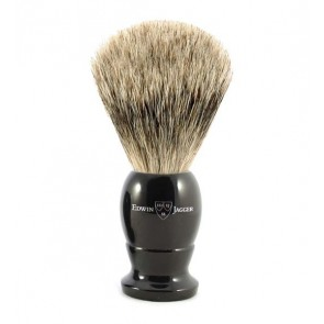 Best Badger Shaving Brush by Edwin Jagger – Ebony M