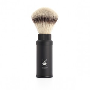 Silvertip Fibre Travel Shaving Brush By Mühle - Black