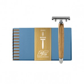 Safety Razor by Fatip - Olive Wood