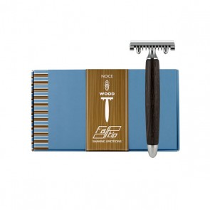Safety Razor by Fatip - Noce Wood