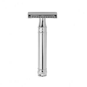 Safety Razor DE89 by Edwin Jagger - Chrome
