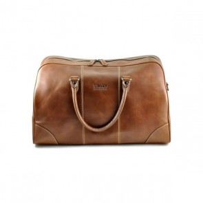 Loake Burghley Weekender Bag Brown