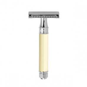 Safety Razor DE87 by Edwin Jagger - Ivory