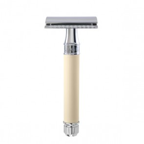Safety Razor DE87RC by Edwin Jagger - Rubber Ivory