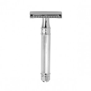 Safety Razor DE89 by Edwin Jagger - Chrome Lined