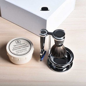 Mühle shaving set black with Fusion razor