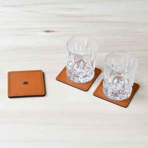 DD Leather Coasters
