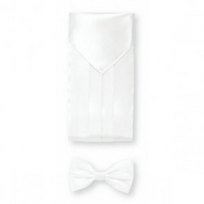 Cumberbund Set - White