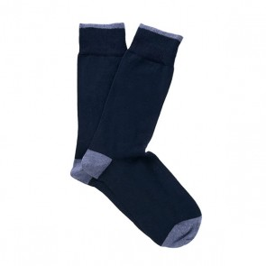 Profuomo Socks - Navy Two-Pack