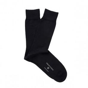 Profuomo Socks Cotton & Wool - Black