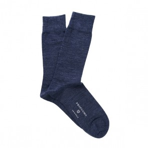 Profuomo Socks Cotton & Wool - Blue