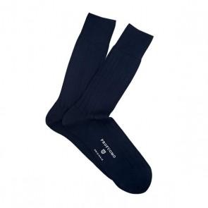 Profuomo Socks Rib - Navy