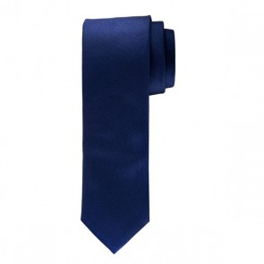 Profuomo Silk Tie - Navy Oxford