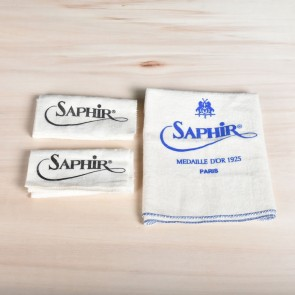 Saphir Applicator & High Shine Cloth - Set of 3