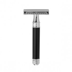 Safety Razor DE86 by Edwin Jagger - Black