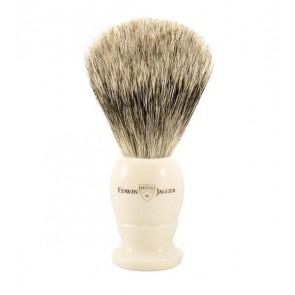 Best Badger Shaving Brush by Edwin Jagger – Ivory Coloured M