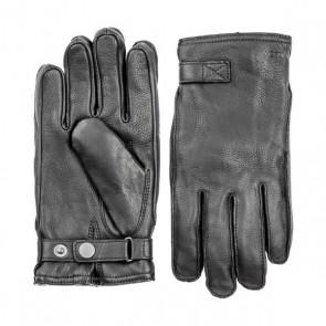 Hestra Gloves Deerskin Wool Terry - Black