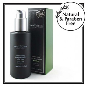 Aloe Vera Moisturising Aftershave Lotion by Edwin Jagger