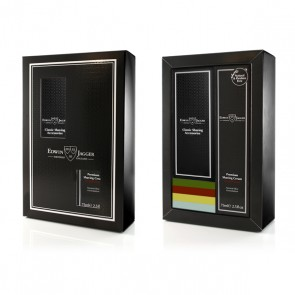 Edwin Jagger Gift Set With Safety Razor - Ivory