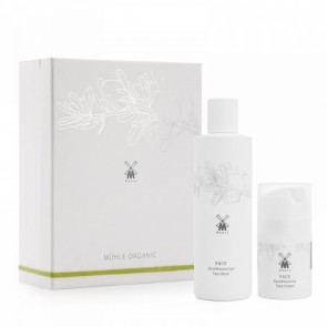 Mühle Gift Set With Organic Face Wash and Cream