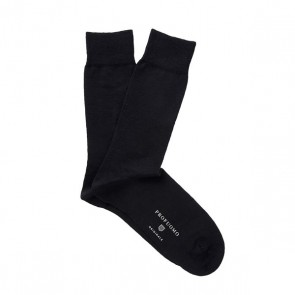 Profuomo Socks Cotton & Wool - Black