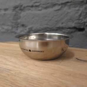 Polished Stainless Steel Shaving Bowl by Distinctly Different