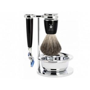 Mühle Fusion Shaving Set Rytmo - Black