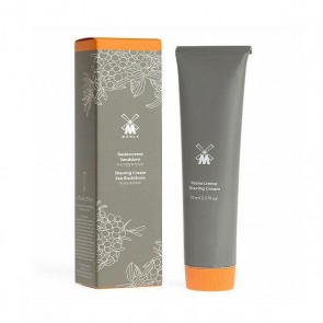 Sea Buckthorn shaving cream in tube by Mühle