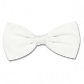 Pre-Tied Bow Tie - White